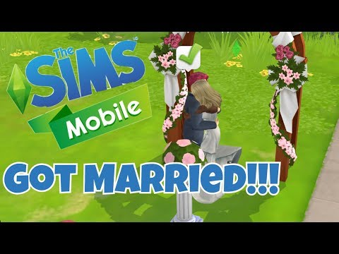 THE SIMS MOBILE Android / iOS Gameplay Walkthrough | Got Married and trying out Job Story Quests