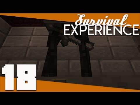 Minecraft: Survival Experience - 018 - Tango's Wither Skeleton Farm | Minecraft 1.12 Survival