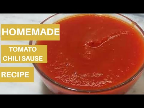 Tomato Chilli Sauce/Homemade Hot and Sweet Tomato Chilli Sauce