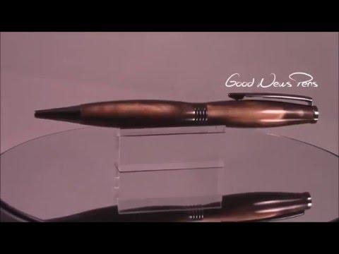 Copper Pearl Barrel Trimline Pen