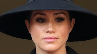 The Real Reason Meghan And Kate Stood Apart On Remembrance Day
