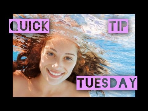 Quick Tip Tuesday: Protect Your Hair While Swimming