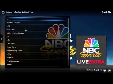 Watch Live English Premier League 2014/15 Season via XBMC