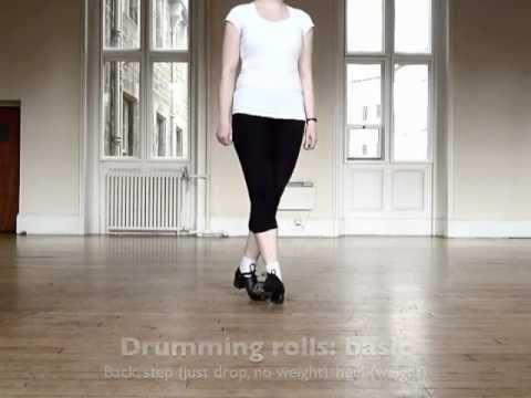Irish dance: how to do drums