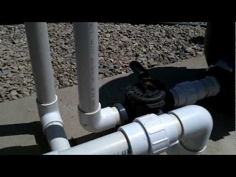 How Pool Plumbing SHOULD be put together.