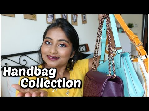 My Handbag Collection | Indian + International Brands