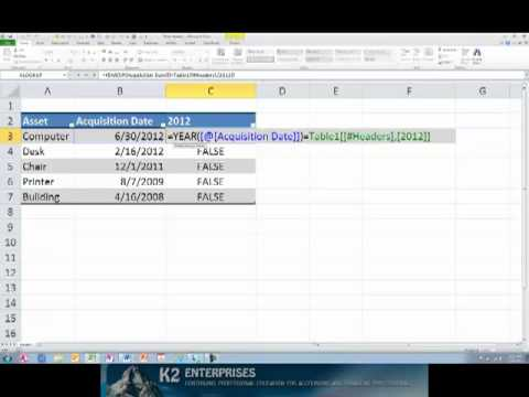 Working With Column Headers in Excel Tables.mp4