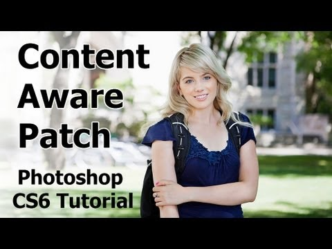 Photoshop CS6 New Features - Content Aware Patch Tutorial