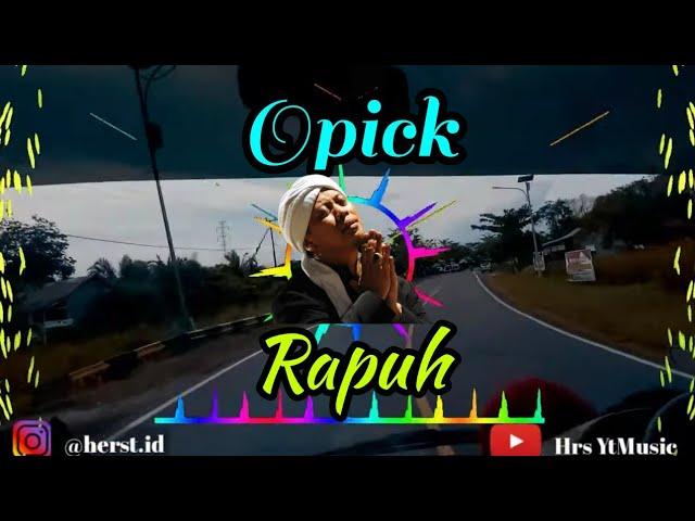 Download Rapuh (Opick) Versi Remix - Enak Didengar   Full Bass Terbaru MP3 Gratis