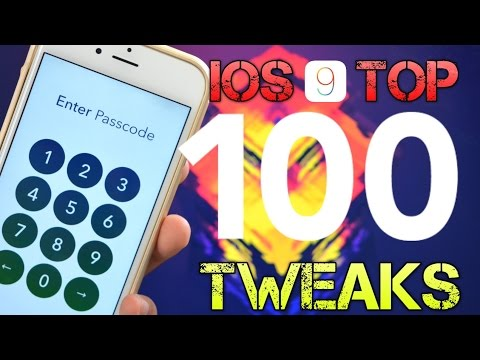 NEW! Top 100 FREE iOS 9 Cydia Tweaks Of ALL TIME - iOS 9.0.1 & 9.0.2 Pangu Jailbreak Compatible!