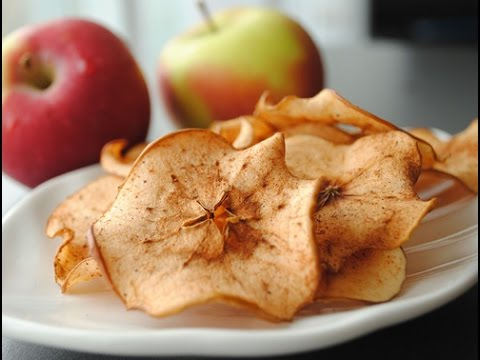 How to Make Baked Apple Chips - Apple Recipes