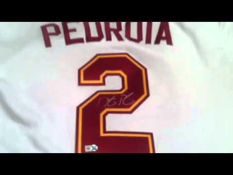 Dustin Pedroia Autographed Arizona State ASU Baseball Jersey Red Sox - MLB Holo
