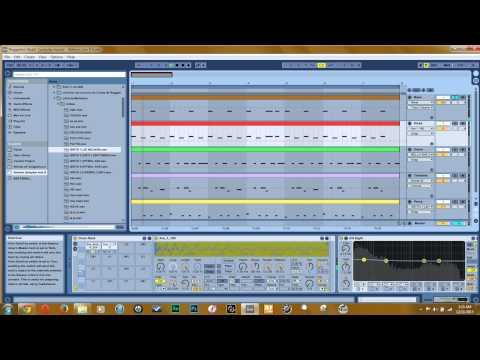 Reggaeton Beat Ableton Live 9 Sounds added