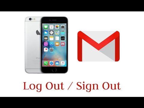 How to Log Out/Sign Out Gmail on iPhone 2017