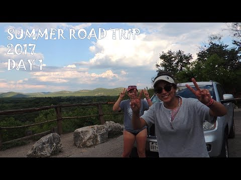 Road Trip Day 1 - Garner State Park
