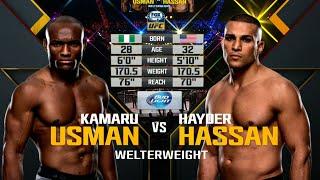 UFC Debut: Kamaru Usman vs Hayder Hassan | Free Fight