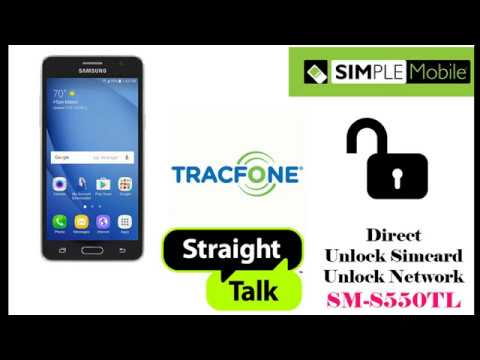 Simcard Unlock SM-S550TL Tracfone Simple Mobile OK By USB Cable