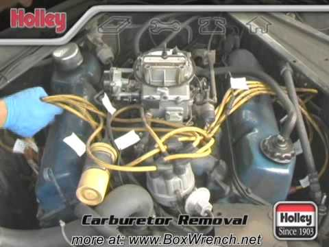 Carburetor Removal Video - Holley Carb Install & Tuning DVD
