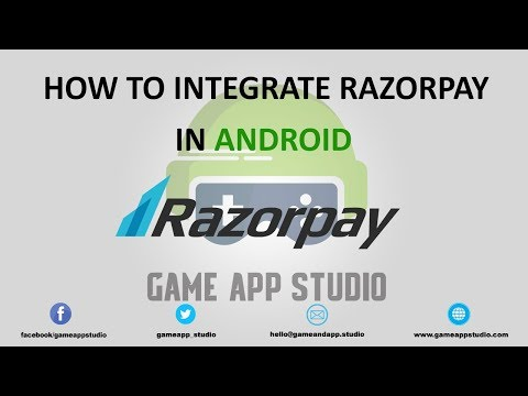 Learn how to integrate RazorPay into your App using Android Studio