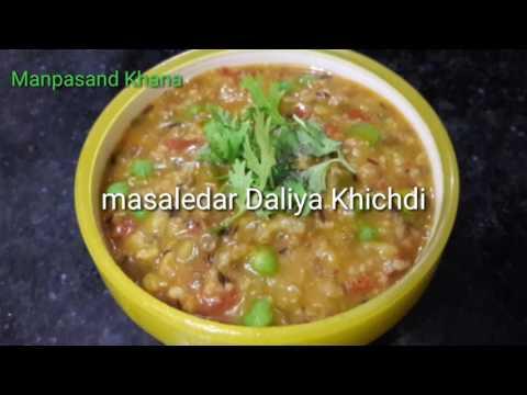 Masaledar Daliya Khichdi