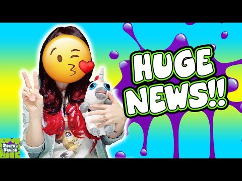HUGE NEWS About My Channel! Doctor Squish Face Reveal!