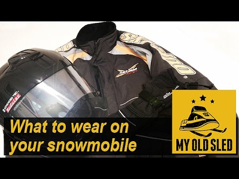 Snowmobile Gear: What to Wear on Your Snowmobile - S1E#12