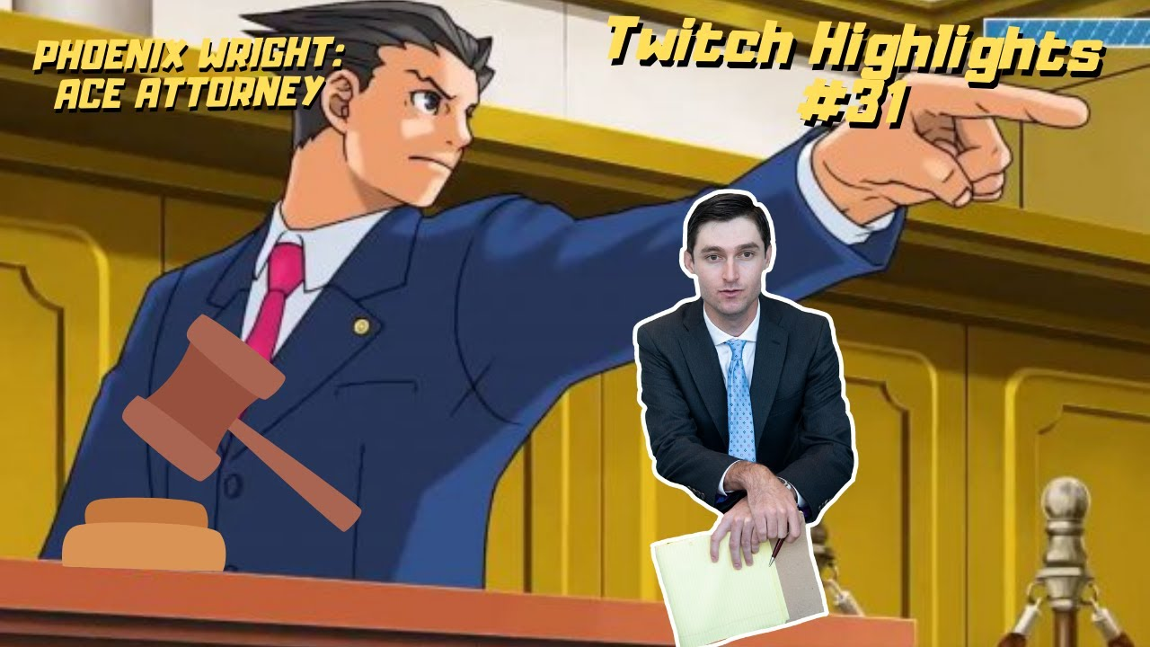 Real Lawyer Plays Phoenix Wright: Ace Attorney   AttorneyTom Stream Highlights #31