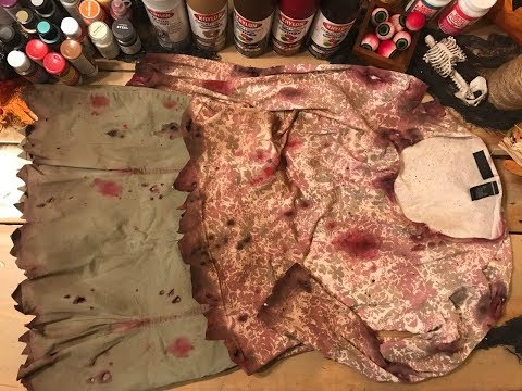 DIY Zombie Girl Costume