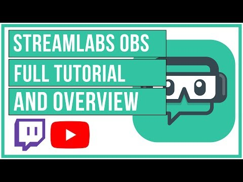 🔴 StreamLabs OBS Full Tutorial And Overview - How To Setup Your Live Stream