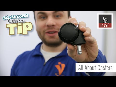 Office Chair Casters | NBF 30 Second Office Tip