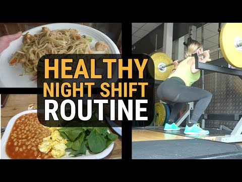 How To Get Enough Sleep, Eat Healthy & Workout | NURSE NIGHT SHIFT ROUTINE SS Ep 3
