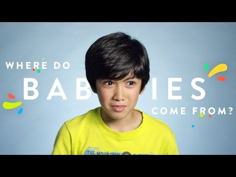 100 Kids: Where Do Babies Come From? | 100 Kids | HiHo Kids