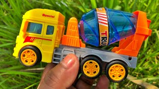 Video about searching for different toy vehicles in the village farm house | PlayToyTime TV