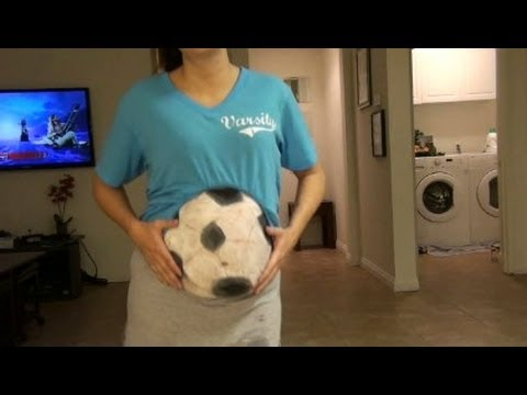 Halloween Costume for the Pregnant  -DIY