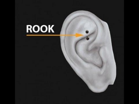 The Rook piercing - Piercings Works Amsterdam