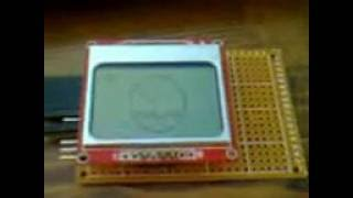 Adafruit GFX library + Nokia 5110 LCD + niq_ro's sketch (II) - getplaypk