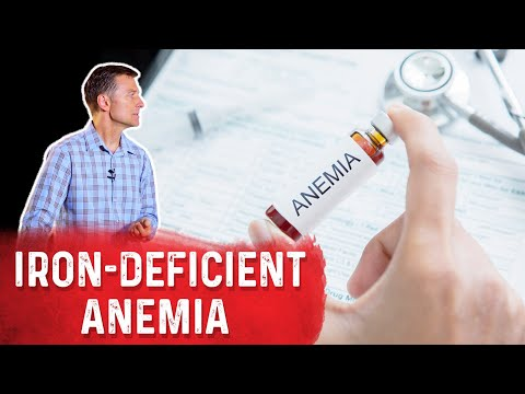 Take Apple Cider Vinegar for Iron-Deficient Anemia
