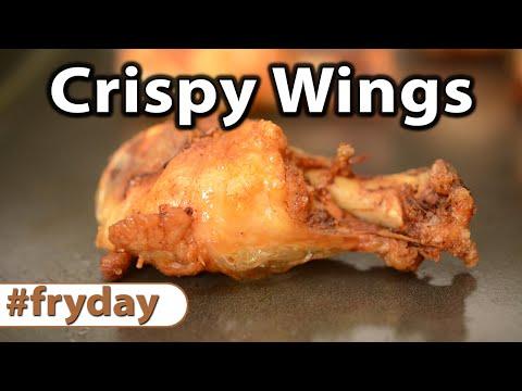How to make Super Crispy Wings | FryDay | Caveman Keto