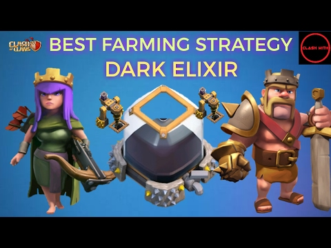 TH8 Dark Elixir Farming Strategy | Best of All - Fast| Clash of Clans