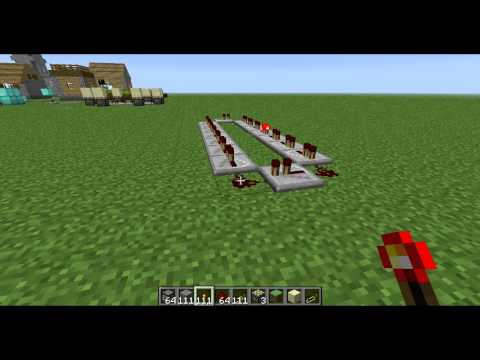 Minecraft 1.10.3 - How to Make a Redstone Clock with Repeater