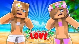 LITTLE KELLYS CAUSES A GIRL FIGHT! Minecraft Love Island
