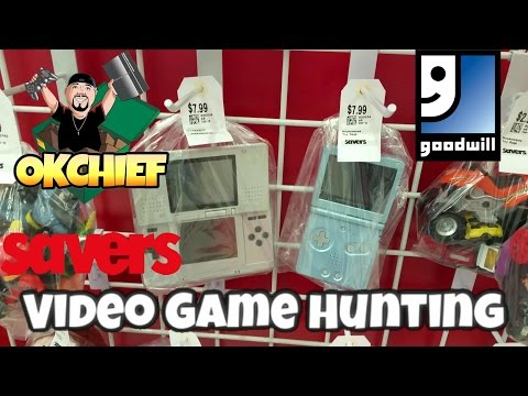 Okchief Video Game Hunting EP. 253 My Saver, Goodwill & Local Thrift Store Haul