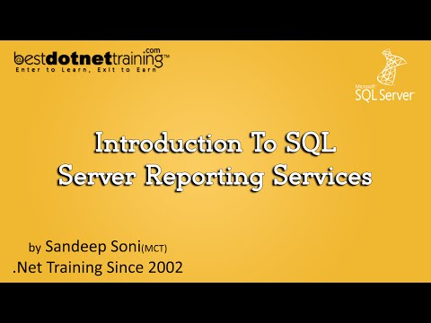 Introduction To SQL Server Reporting Services (SSRS)