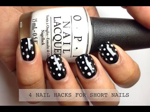 NAIL HACKS: MAKE SHORT NAILS LOOK LONG