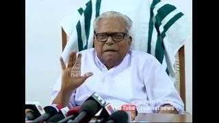 V. S. Achuthanandan's response on Minister Jayarajan's resignation