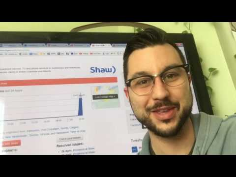 SHAW TV and internet down!