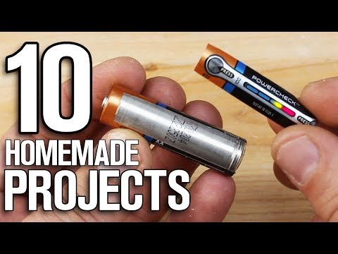 10 Homemade Projects - 10 Easy & Simple Hacks!