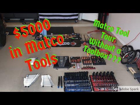 $5000 In Matco Tools - Tool Box Tour??