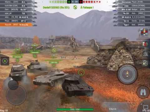 World of tanks blitz evenement halloween (T6 Dracula) Tiers 7