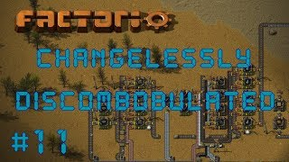 Factorio Changelessly Discombobulated - Angels & Bobs Mods Ep 11: Military Pack | Gameplay Lets Play